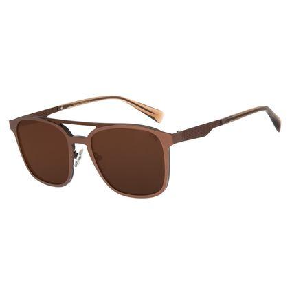 Óculos de Sol Masculino Alok Classics.Tech Marrom OC.MT.2804-0202