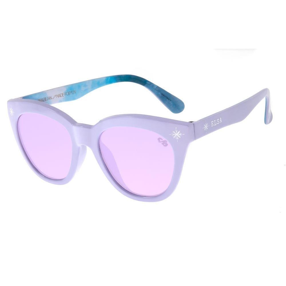 Óculos de Sol Infantil Frozen ll Chilli Beans Elsa Roxo OC.KD.0637-1414