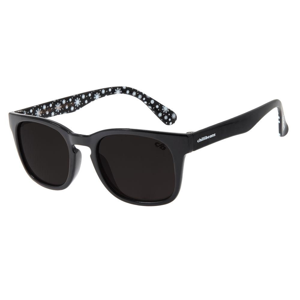 Óculos de Sol Infantil Frozen ll Chilli Beans Olaf Preto OC.KD.0636-0101