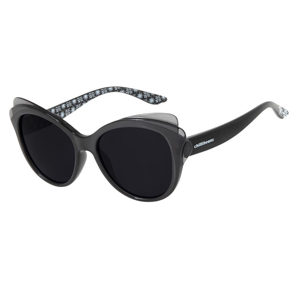 Óculos de Sol Infantil Fronzen II Chilli Beans Hipoalergênico Vinho OC.KD.0630-0117