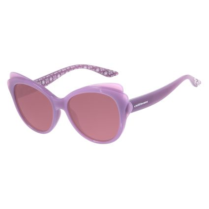 Óculos de Sol Infantil Fronzen ll Chilli Beans Hipoalergênico Rosa OC.KD.0630-0213
