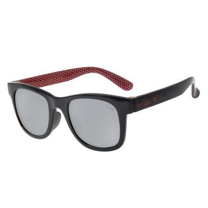 Óculos de Sol Infantil Spider-Man Chilli Beans Quadrado Flash OC.KD.0638-0001