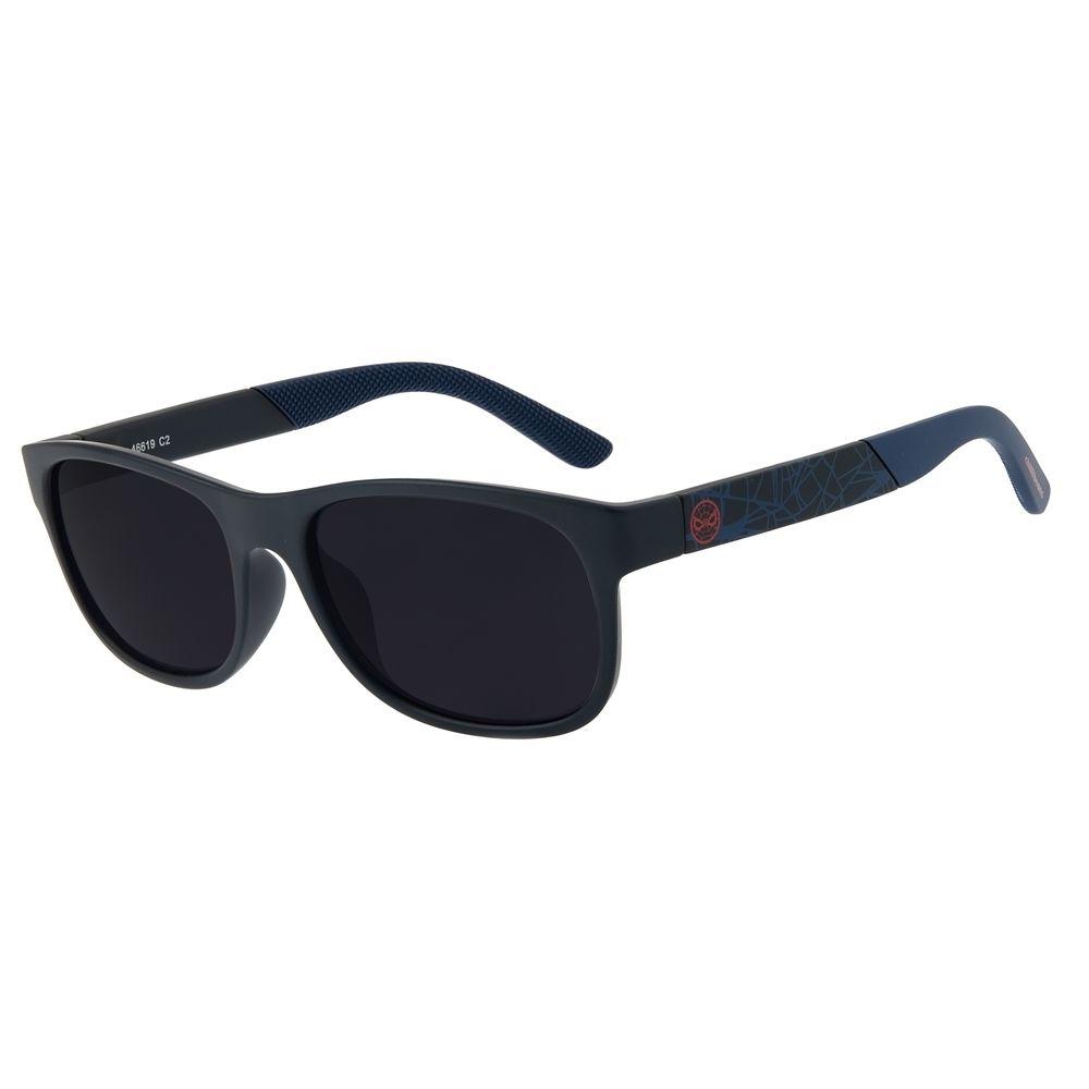 Óculos de Sol Infantil Spider-Man Chilli Beans Azul Escuro OC.KD.0631-0190