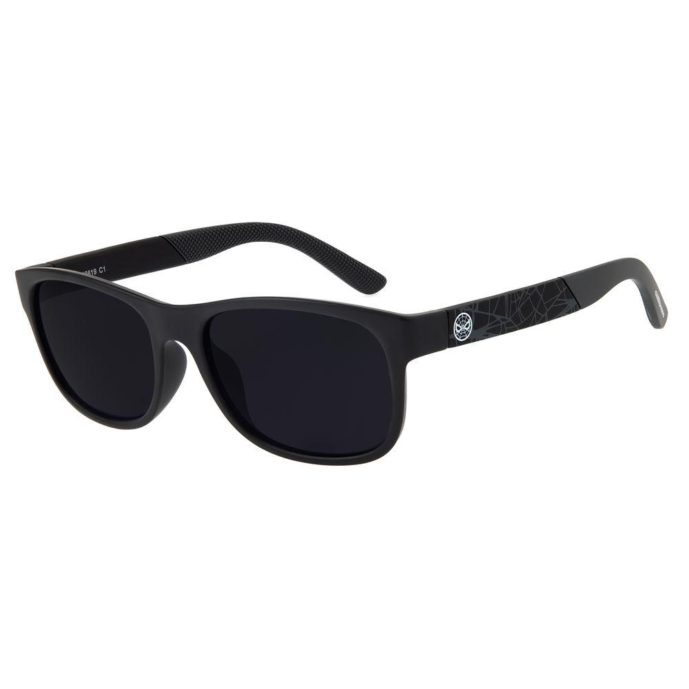 Óculos de Sol Infantil Spider-Man Chilli Beans Preto OC.KD.0631-0101