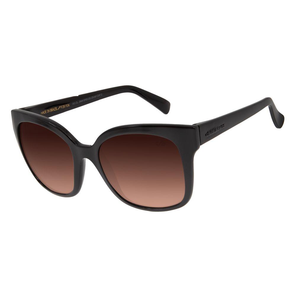 Óculos de Sol Feminino Chilli Beans Quadrado Classic Degradê Marrom OC.CL.2644-5703