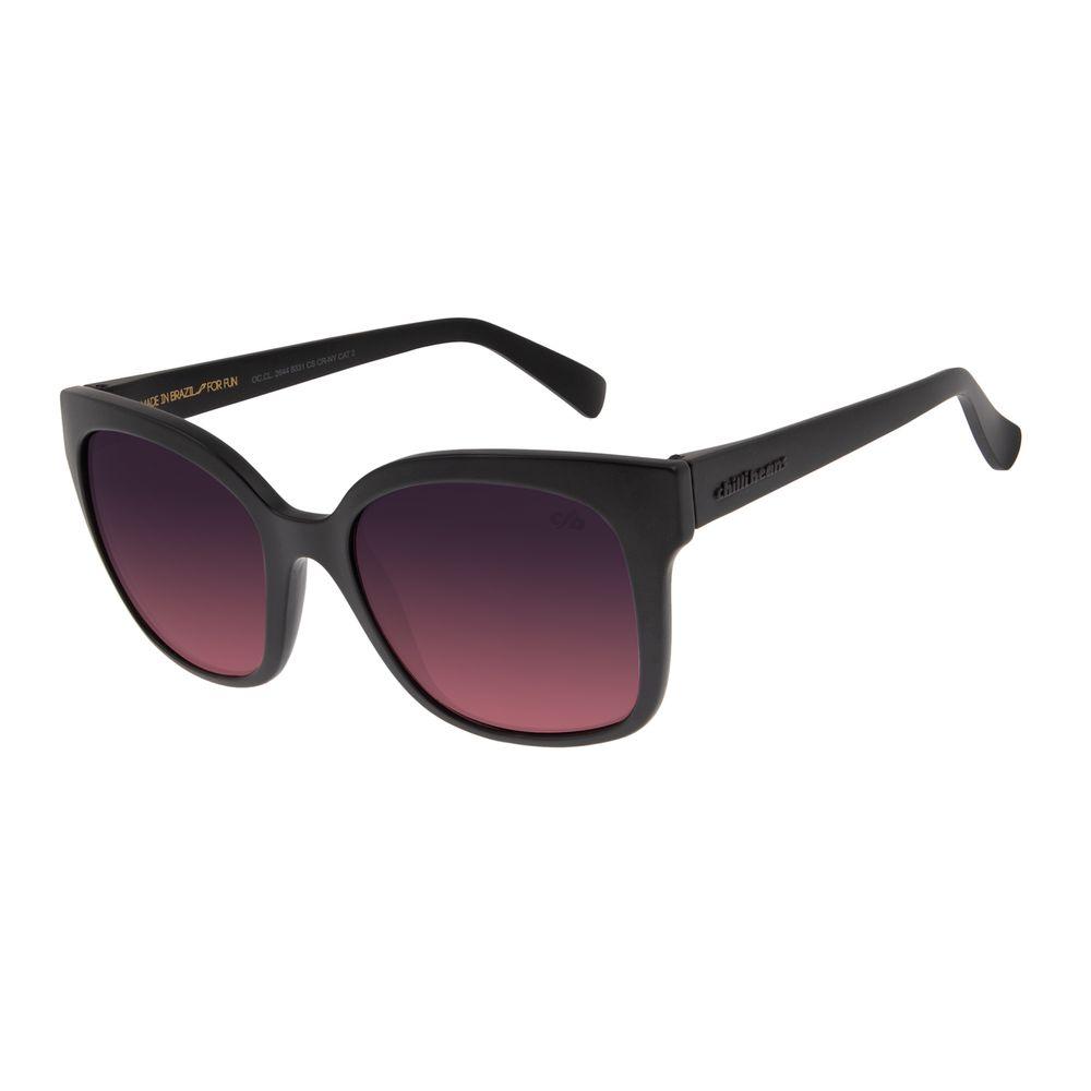 Óculos de Sol Feminino Chilli Beans Quadrado Classic Fosco OC.CL.2644-8331