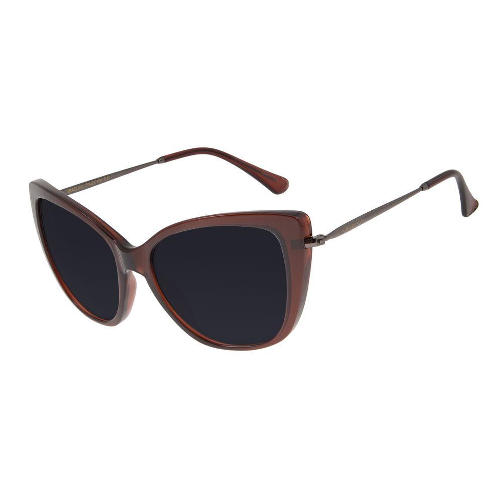 Óculos de Sol Feminino Chilli Beans Gatinho Vinho OC.CL.2925-0117