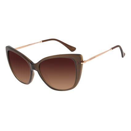 Óculos de Sol Feminino Chilli Beans Gatinho Marrom OC.CL.2925-5702