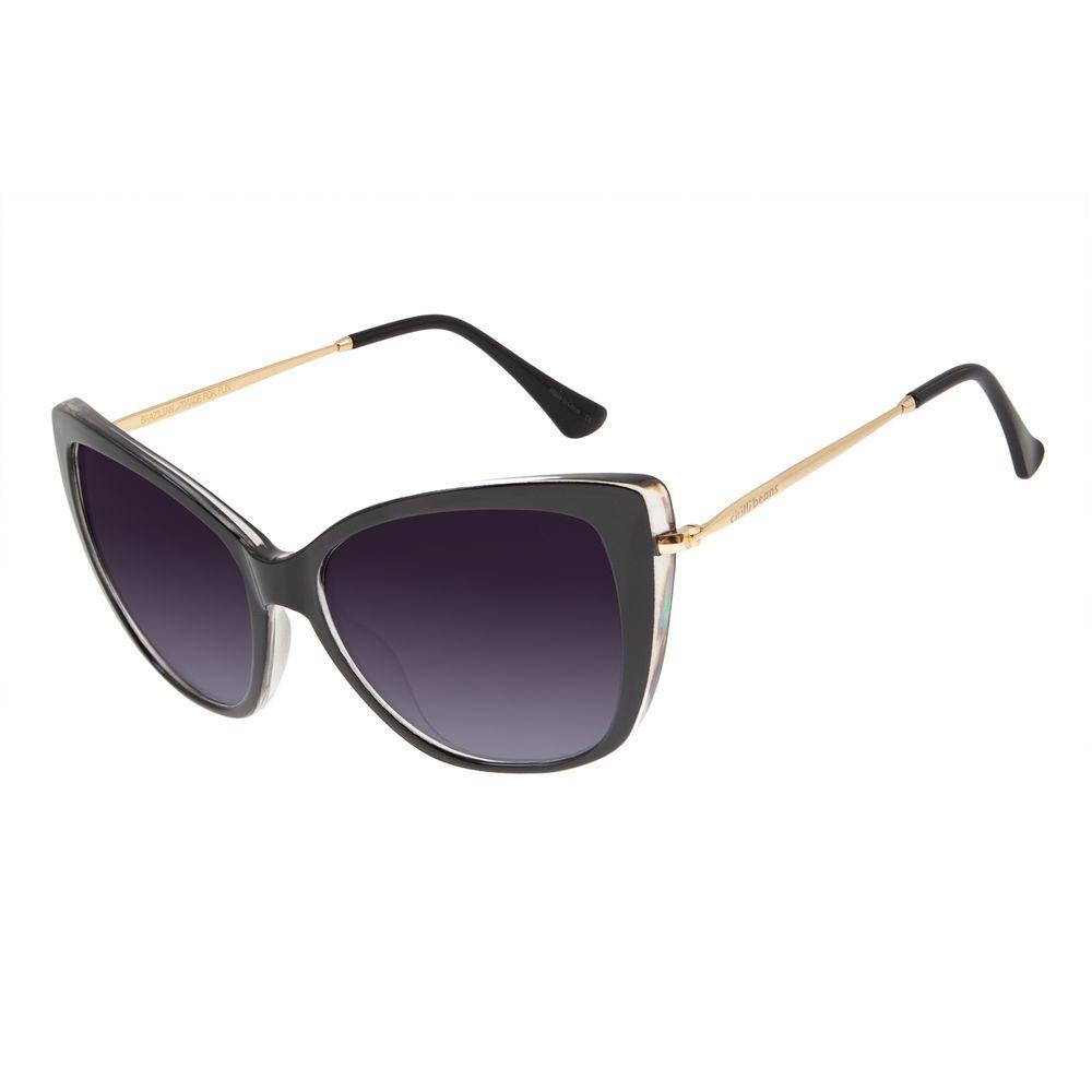 Óculos de Sol Feminino Chilli Beans Gatinho Preto OC.CL.2925-2001