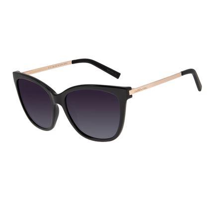 Óculos de Sol Feminino Chilli Beans Quadrado Polarizado Preto OC.CL.2932-2001