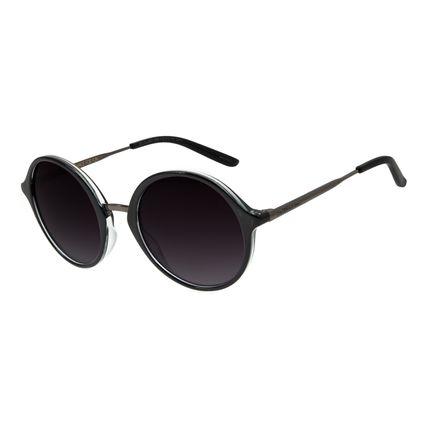 Óculos de Sol Feminino Chilli Beans Redondo Preto OC.CL.2941-2001