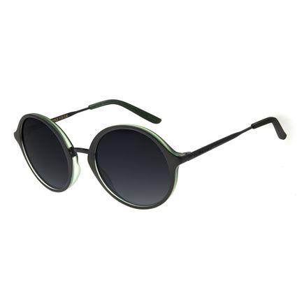 Óculos de Sol Feminino Chilli Beans Redondo Verde OC.CL.2941-0015