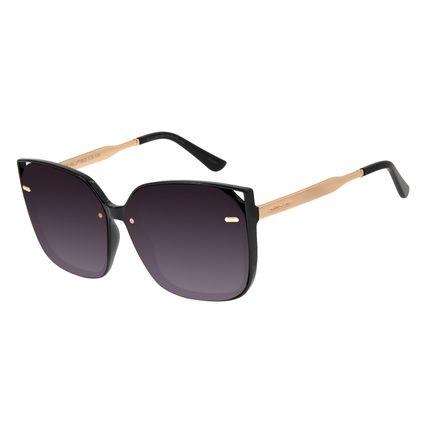 Óculos de Sol Feminino Chilli Beans Quadrado Preto OC.CL.2942-2001