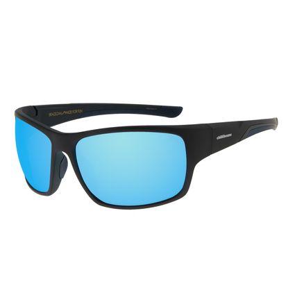 Óculos de Sol Masculino Chilli Beans Performance Azul Espelhado OC.ES.1210-9101
