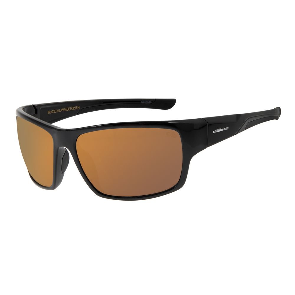 Óculos de Sol Masculino Chilli Beans Performance Dourado OC.ES.1210-2101