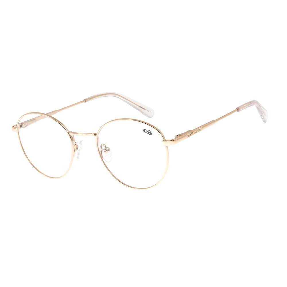Armação Para Óculos de Grau Unissex Chilli Beans Dourado Claro LV.MT.0328-6464