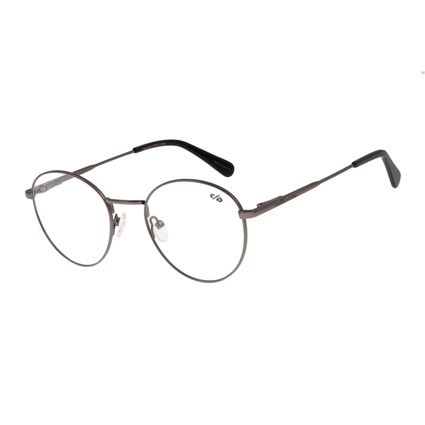 Armação Para Óculos de Grau Unissex Chilli Beans Grafite LV.MT.0328-2401
