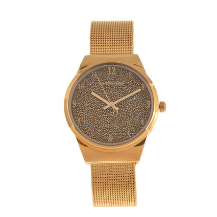 Relógio Analógico Feminino Chilli Beans Crystal Dourado RE.MT.0973-2121