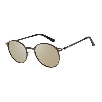 Óculos de Sol Unissex Chilli Beans Redondo Flash Polarizado OC.MT.2739-0022