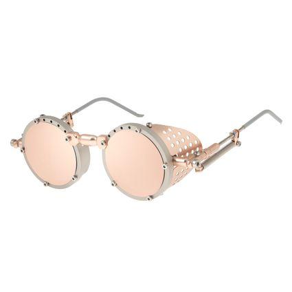 Óculos de sol Unissex Chilli Beans Alok Iconic Steampunk Rosê OC.MT.2803-4747