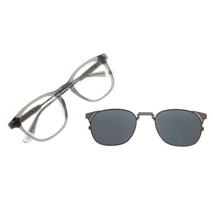 LV.Armação Para Óculos De Grau Unissex Alok Chilli Beans Multi Cinza MU.0323-0404