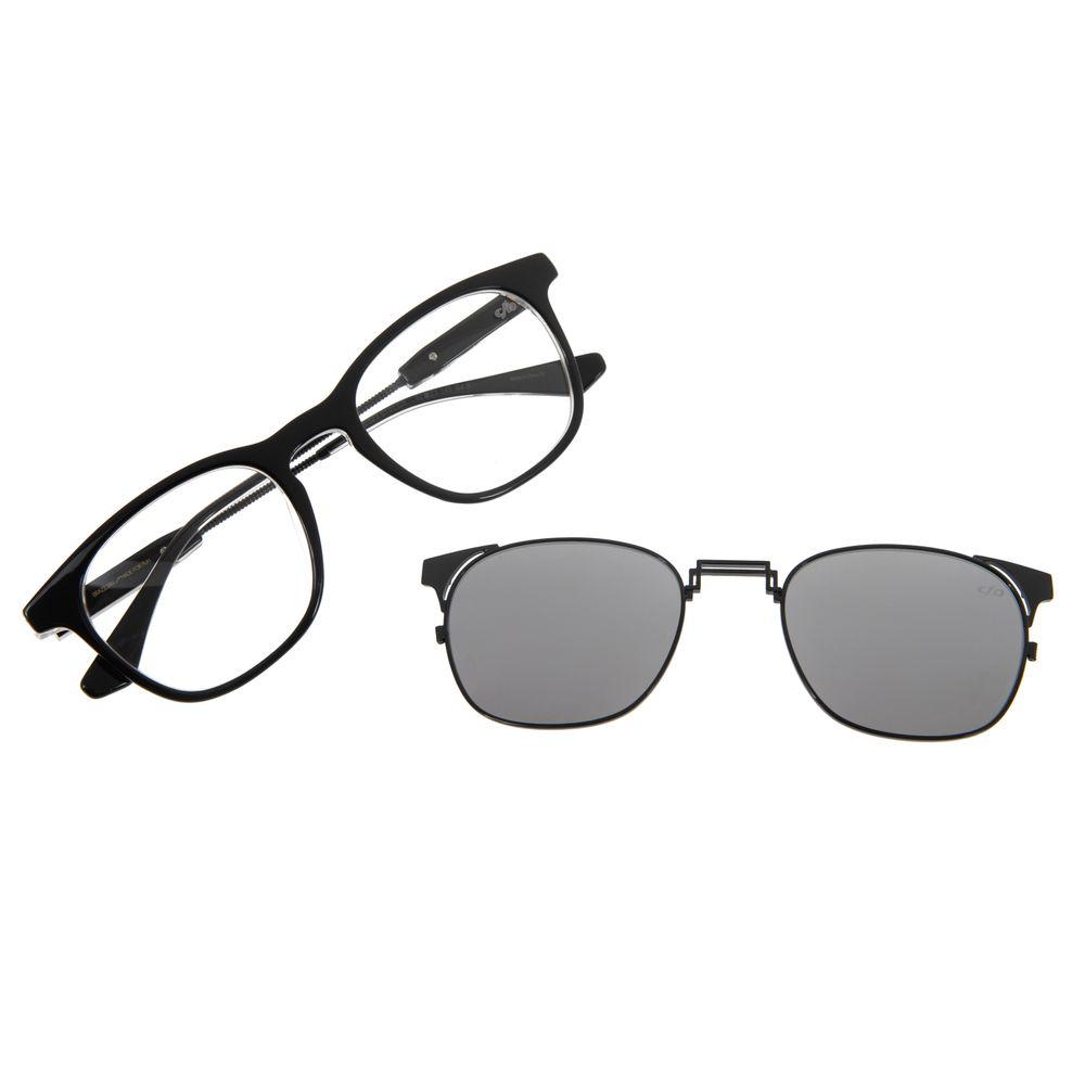 Armação Para Óculos De Grau Unissex Alok Chilli Beans Multi Preto LV.MU.0323-0101