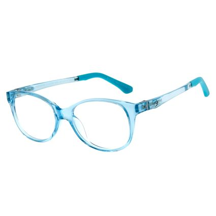 Armação Para Óculos De Grau Infantil Frozen II Chilli Beans Olaf Azul LV.IJ.0159-0808