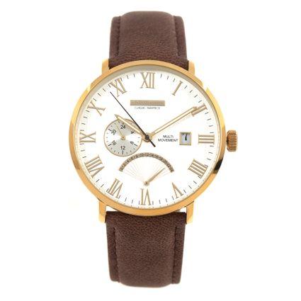 Relógio Analógico Masculino Chilli Beans Classic Timepiece Marrom RE.CR.0429-0702