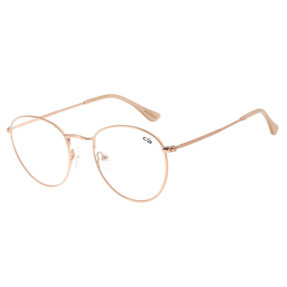 Armação Para Óculos De Grau Unissex Chilli Beans Redondo Rosa LV.MT.0304-9513