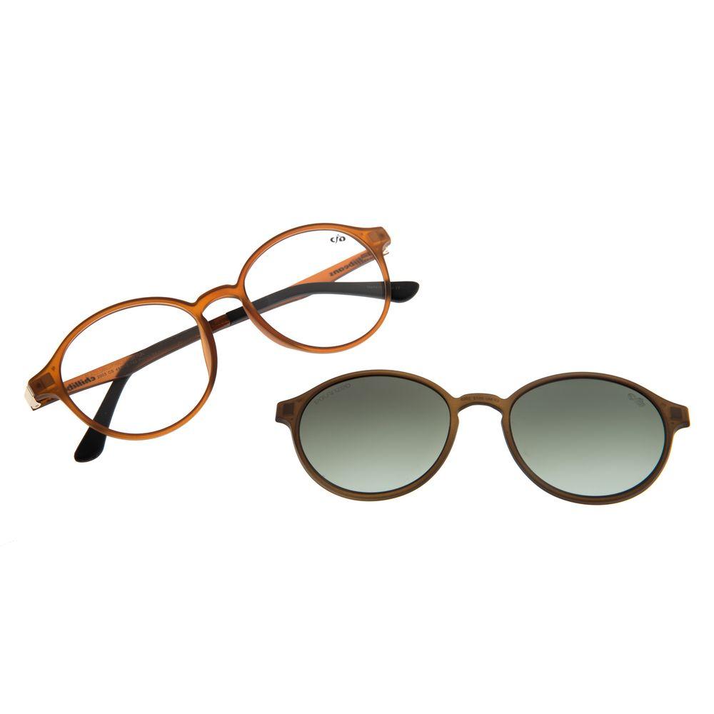 Armação Para Óculos De Grau Feminino Chilli Beans Multi Caramelo LV.MU.0072-2003