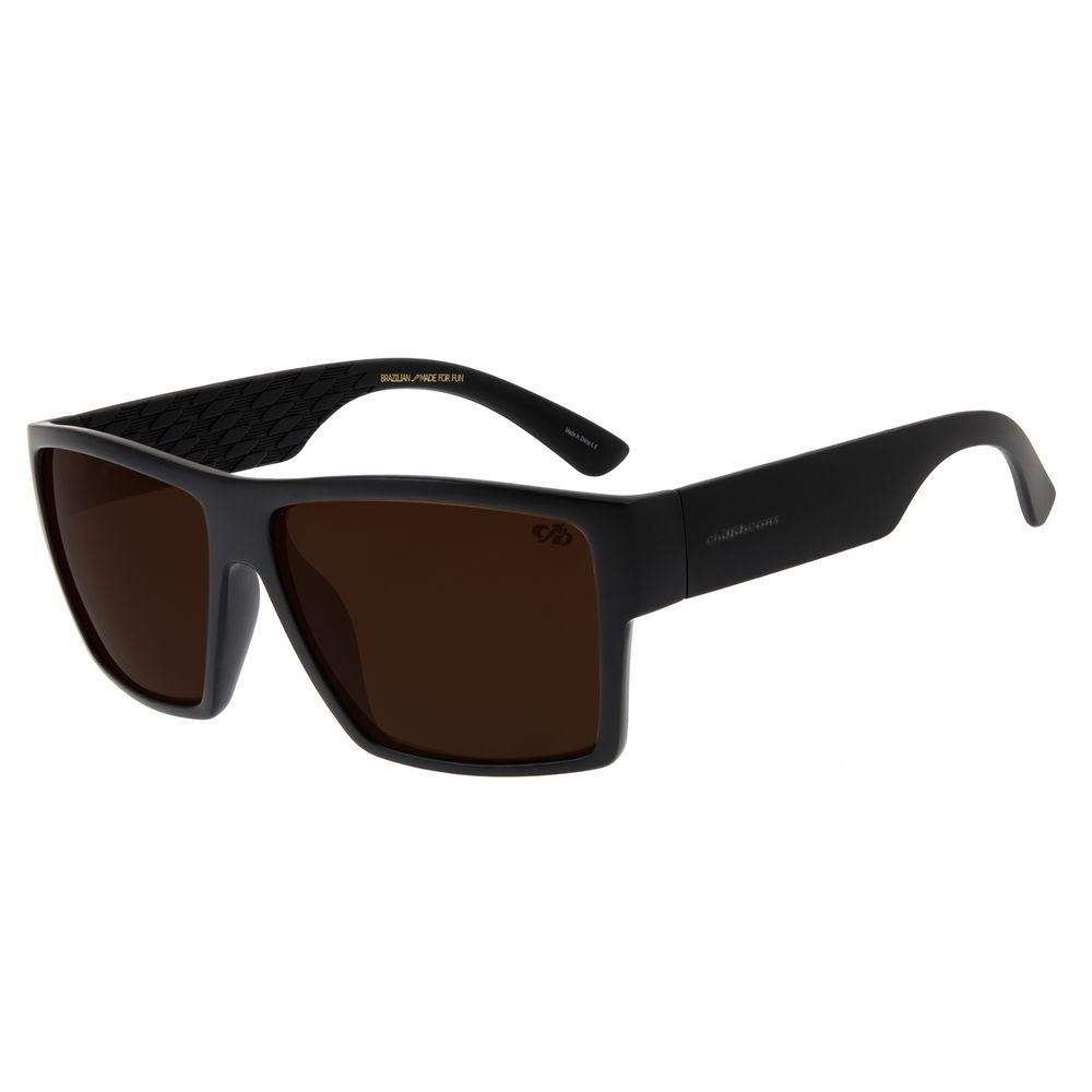 Óculos De Sol Masculino Chilli Beans Quadrado Fosco OC.CL.2843-0231