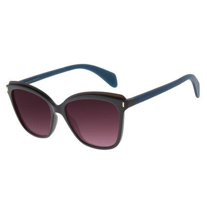 Óculos de Sol Feminino Chilli Beans Redondo Fosco Polarizado OC.CL.2850-2031