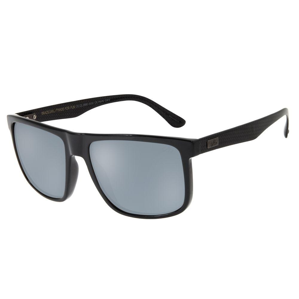 Óculos De Sol Masculino Chilli Beans Bossa Nova Flash OC.CL.2890-0030