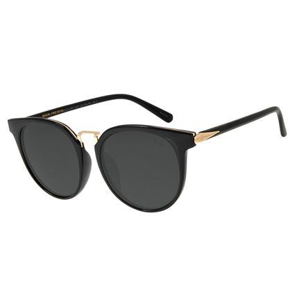 Óculos de Sol Feminino Chilli Beans Preto Polarizado OC.CL.2911-0101