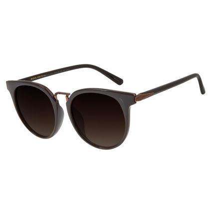 Óculos de Sol Feminino Chilli Beans Marrom Polarizado OC.CL.2911-5702