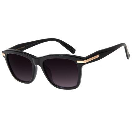 Óculos de Sol Feminino Chilli Beans Quadrado Metallic Preto OC.CL.2913-2001