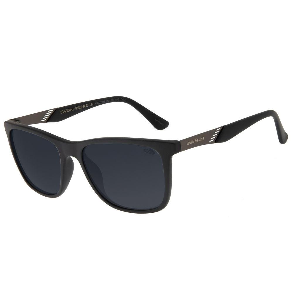 Óculos de Sol Masculino Chilli Beans Bossa Nova Preto OC.CL.2939-0101