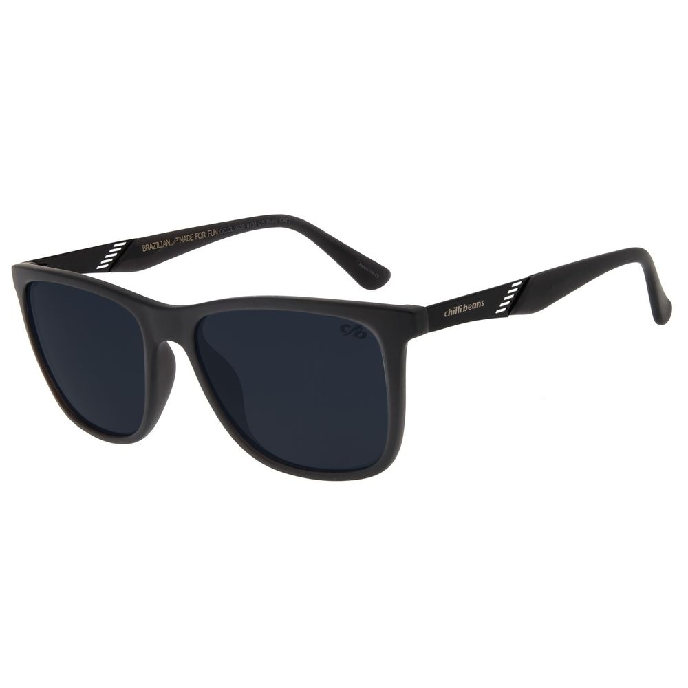 Óculos de Sol Masculino Chilli Beans Bossa Nova Fosco OC.CL.2939-0131