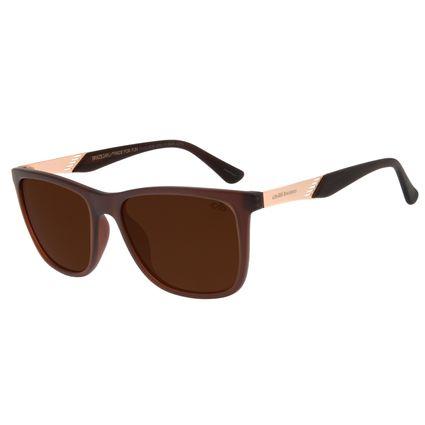 Óculos de Sol Masculino Chilli Beans Bossa Nova Marrom OC.CL.2939-0202