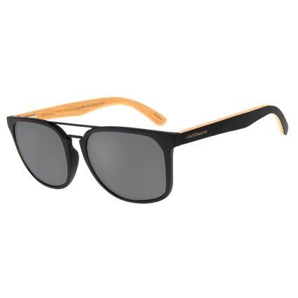 Óculos de Sol Masculino Chilli Beans Bossa Nova Bamboo Preto OC.CL.2940-0101
