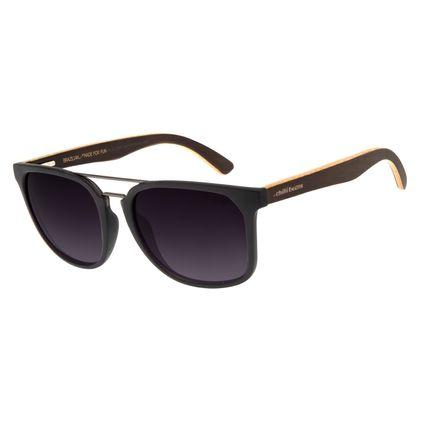 Óculos de Sol Masculino Chilli Beans Bossa Nova Bamboo Degradê OC.CL.2940-2001