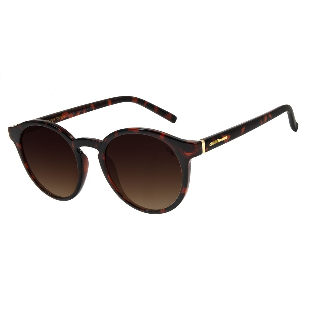 Óculos de Sol Feminino Chilli Beans Classic Tartaruga OC.CL.2947-5706