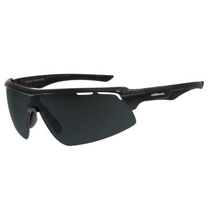 Óculos de Sol Masculino Chilli Beans Esportivo Preto Polarizado OC.ES.1207-0101