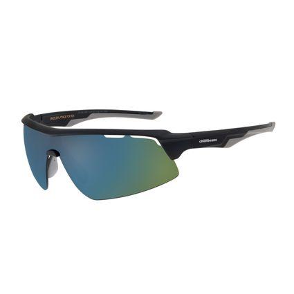 Óculos de Sol Masculino Chilli Beans Esportivo Azul Escuro Polarizado OC.ES.1207-9190