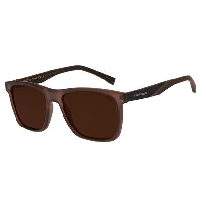 Óculos de Sol Masculino Chilli Beans New Sport Marrom Polarizado OC.ES.1209-0202