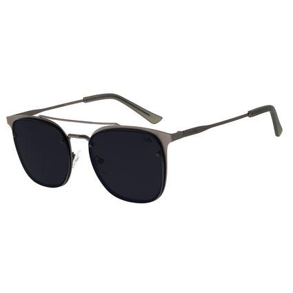 Óculos de Sol Masculino Chilli Beans Metal Quadrado Ônix OC.MT.2539-0122