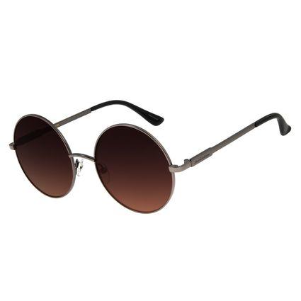 Óculos de Sol Feminino Chilli Beans Redondo Metal Ônix OC.MT.2715-5722