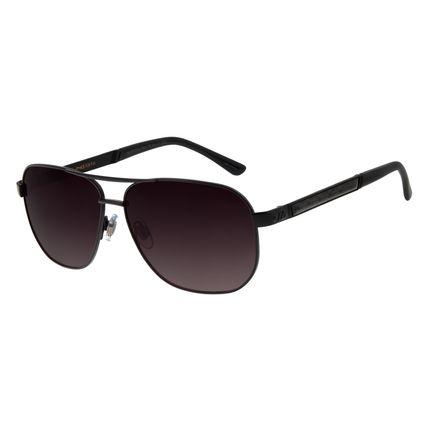 Óculos de Sol Masculino Chilli Beans Metal Executivo Fosco Polarizado OC.MT.2754-2031