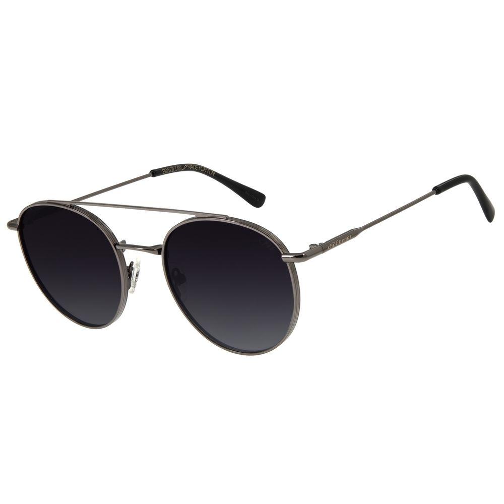 Óculos de Sol Feminino Chilli Beans Redondo Polarizado Ônix OC.MT.2769-2022