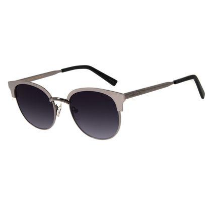 Óculos de Sol Feminino Chilli Beans Quadrado Metal Ônix OC.MT.2788-2022